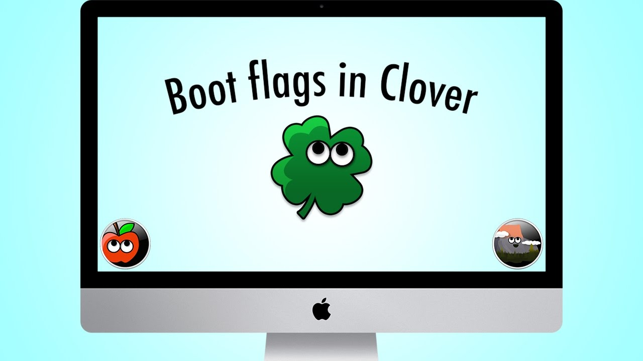 Boot Flags in Clover for OS X El Capitan
