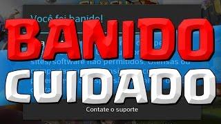 JOGADORES SENDO BANIDO, CUIDADO ! - CLASH ROYALE/CLASH OF CLANS