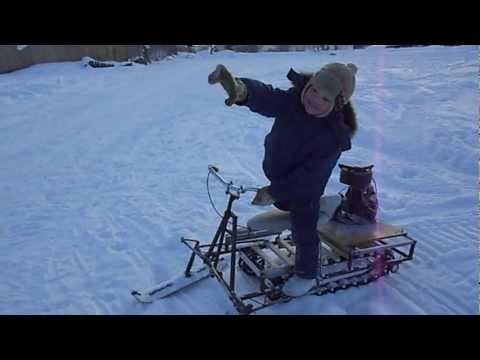 видео: снегоход на дружбе