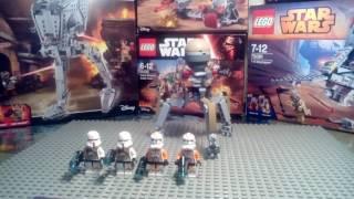 Набор Lego Star Wars Клоны Утапао - 75036