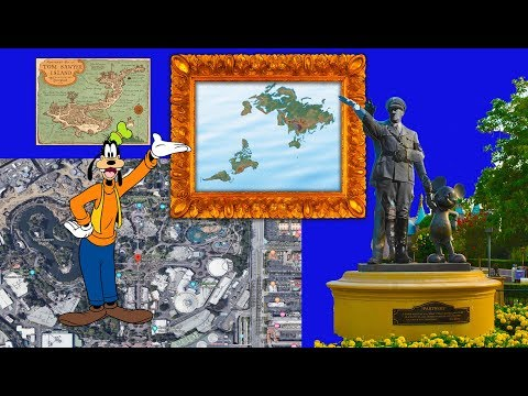 The Walt Disney flat earth map thumbnail