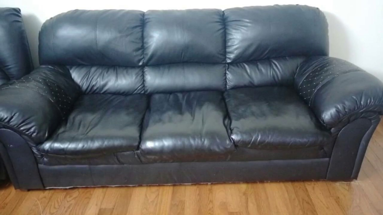 Pu Leather Sofa Repair Harveys Delivery Charge Diy Your Torn Faux Youtube