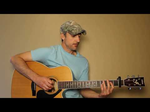 Brokenheartsville - Joe Nichols - Guitar Lesson | Tutorial