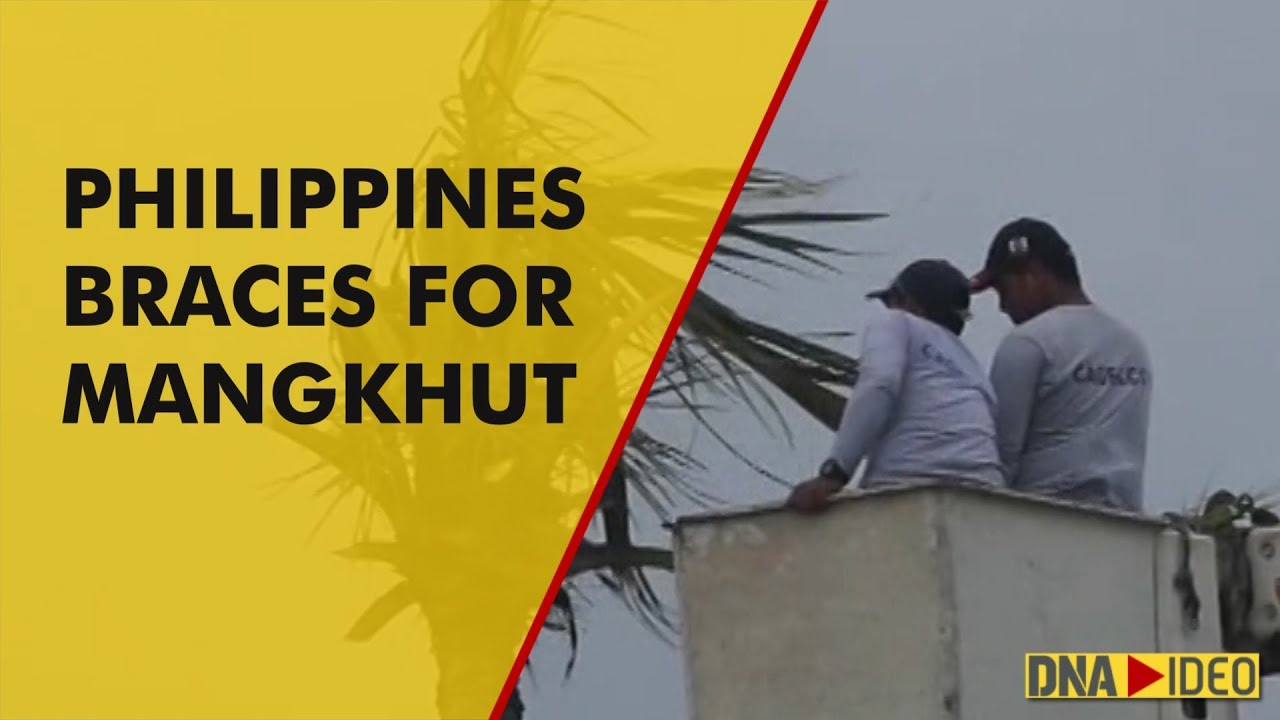 Philippines prepares for Typhoon Mangkhut's arrival