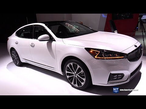 2019 KIA Cadenza – Exterior and Interior Walkaround – 2019 Detroit Auto Show