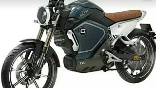 Electric motorbike motorcycle in China super soco