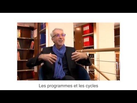 Les programmes 2016 sont cyclés, par Michel Lussault, Président du CSP