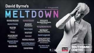 david byrnes meltdown festival line up announcement