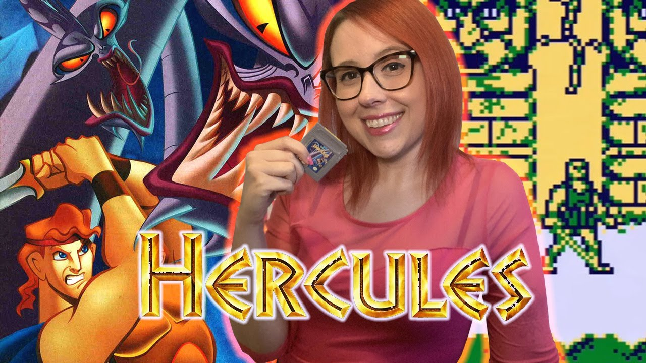 THE WORST DISNEY GAME EVER? HERCULES on GAME BOY! — Erin Plays