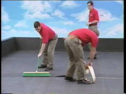 firestone epdm ballasted system youtube. Black Bedroom Furniture Sets. Home Design Ideas