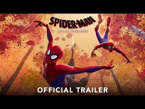 Spider-Man: Into the Spider-Verse trailers
