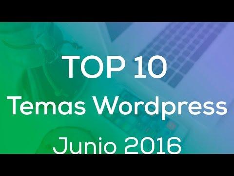 Top 10 de Los Mejores Temas de WordPress (Junio 2016)