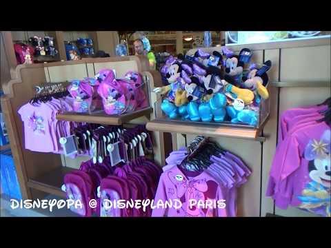 Disneyland Paris World of Disney Shop walkthrough 2017 DisneyOpa