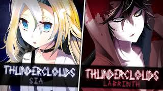 Download lagu Nightcore - Thunderclouds (1 Hour)