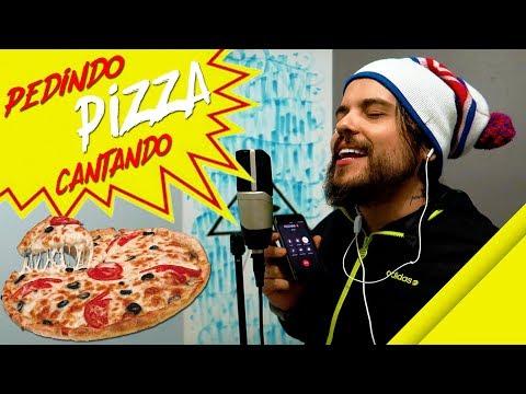 PEDINDO PIZZA CANTANDO | Rafinha Sanchez
