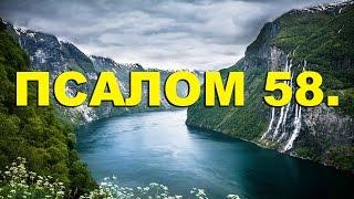 Скачать Псалтирь ПСАЛОМ 58 рус