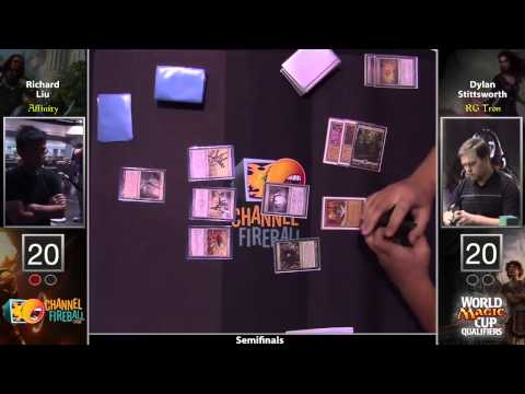 WMCQ Semifinals - Dylan Stittsworth (RG Tron) vs Richard Liu (Affinity)