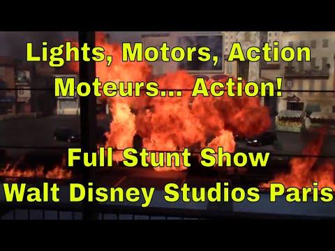 Lights, Motors, Action - Moteurs… Action!-  Stunt Show Spectacular at Disneyland Paris with preshow
