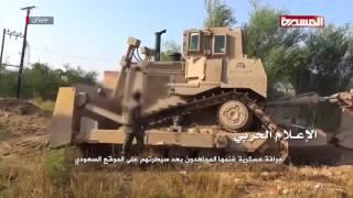 Хуситы в бою с саудитами (Йемен)