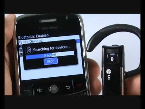Bluetooth Tutorial ? BlackBerry Bold 9000 | The Human Manual