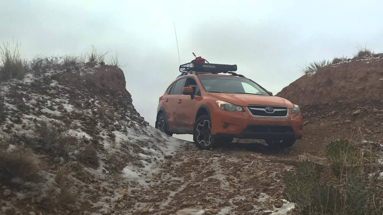 Subaru Crosstrek Off Road >> Subaru Crosstrek Icy Offroad - YouTube