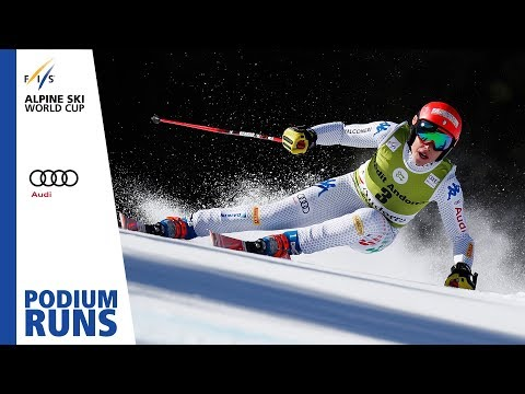 Federica Brignone | Ladies' Super-G | Soldeu | Finals | 3rd place | FIS Alpine