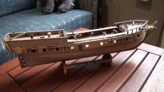 "Модель корабля ""Rattlesnake"""