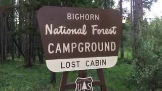 Lost Cabin Campground, Wyoming