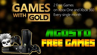 Games With Gold Agosto 2015 Free Games (X360/Xone)