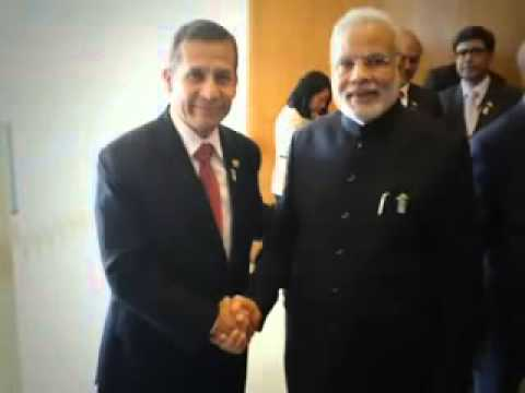PM Narendra Modi meets South American Presidents in Brasilia, Brazil