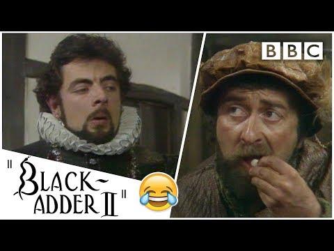 Teaching an idiot basic maths | Blackadder - BBC