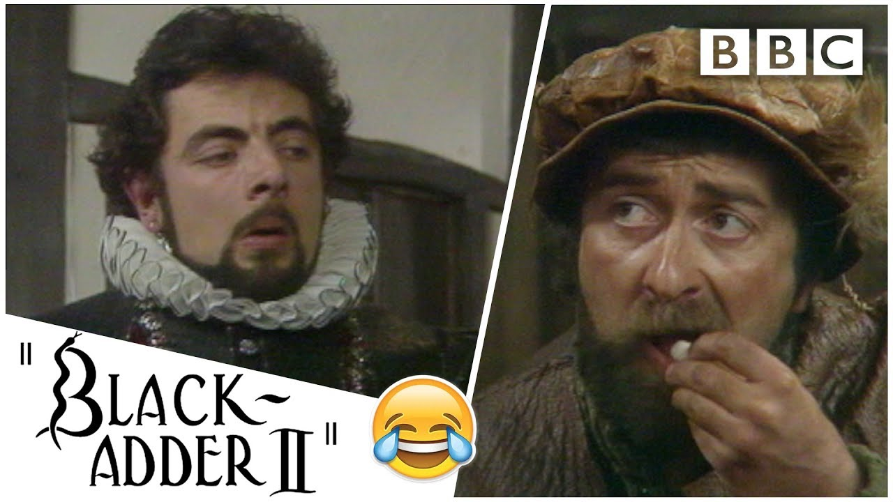 Teaching an idiot basic maths | Blackadder - BBC