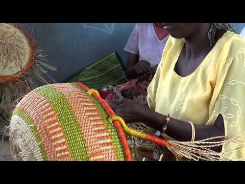 Ojoba Basket Weaving Ghana 2013