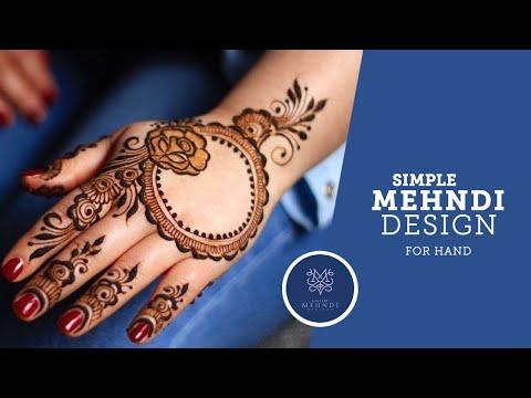 simple-mehndi-design-for-hands│easy-mehndi-pattern│gallery-mehndi-designs