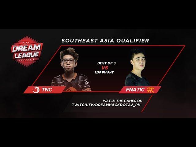 TNC Pro Team vs Fnatic Grandfinals Game 3 (BO3) DreamLeague Season 8