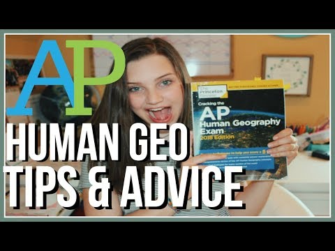 AP Human Geography| my experience, advice and tips