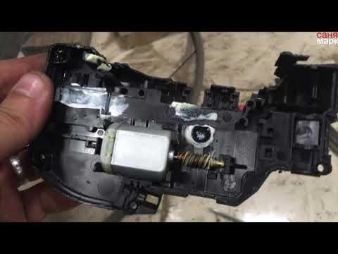 ремонт замка двери ниссан тиида(отпирание, запирание)с кнопки
