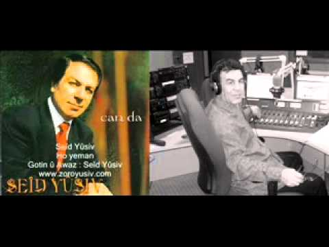 Mostafa Khalil's interview with famous Kurdish singer Saeed Yousif with Radio 2000fm in 2009