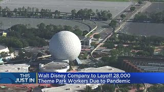 Walt Disney Company To Layoff Theme Park Workers Due To Pandemic