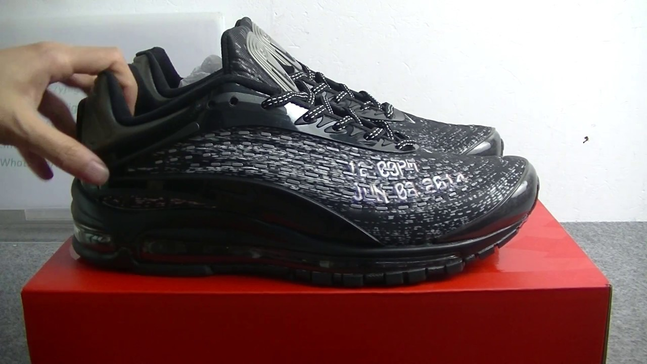 best sneakers cfd83 315d1 Skepta x Nike Air Max Deluxe Review !