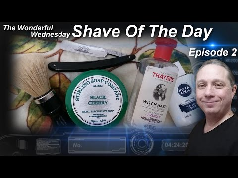 Haddon Brand Straight Razor Shave, Shave Of The Day, Stirling Soap Co, Wonderful Wednesday #SOTD Ep2