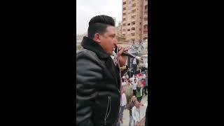 حمو بيكا حفله وش غضب الان