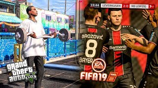 How I Combine FIFA 19 And GTA 5! (MAKING OF MY PLAYER!)