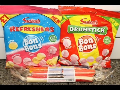 England Eatables #23 Swizzels Drumstick, Swizzels Refreshers And Sticks Of Rock: Isle Of Wight