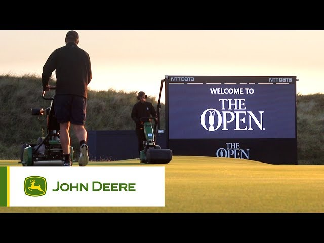 John Deere at the Open 2017