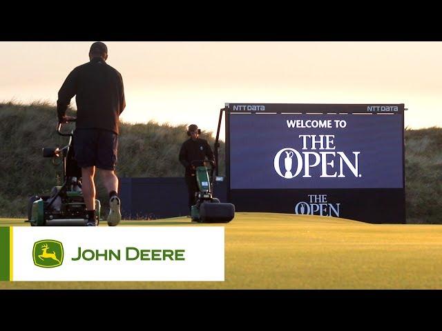 John Deere at the Open 2017