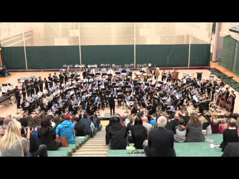 1812 Overture - Combined Bands - JHS Festival of Bands - 3/2/2017