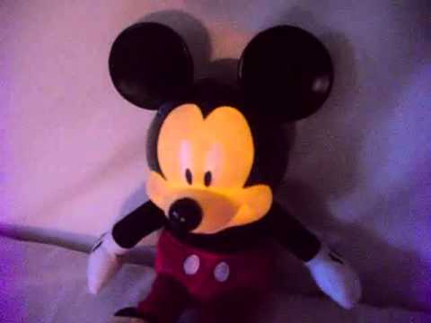 Mickey Mouse Musical Plush Toy Lights Up and Plays a Lullaby