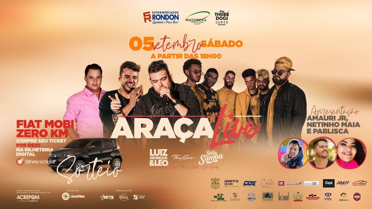 Live Luiz Henrique e Léo   #AraçaLive