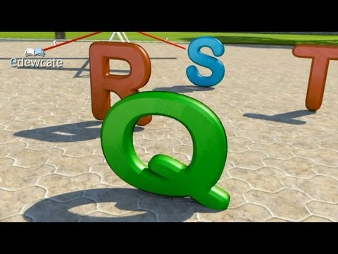 ABC Song for Children in 3D  Alphabet Songs  Phonics Songs  3D Animation Nursery Rhymes